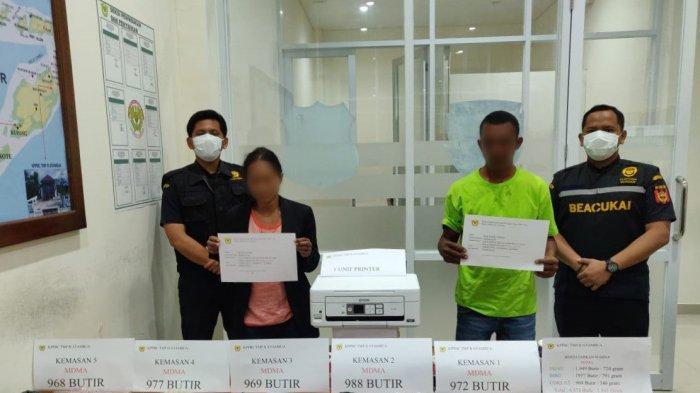 Bea Cukai Atambua Gagalkan Penyelundupan 4.874 Butir Ekstasi