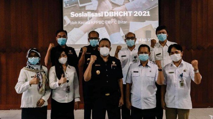 Demi DBHCHT Tepat Guna, Bea Cukai Gencarkan Sosialisasi dan Koordinasi