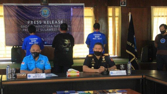 Bea Cukai dan BNNP Sulawesi Utara Gagalkan Pengiriman Ganja ke Boroko