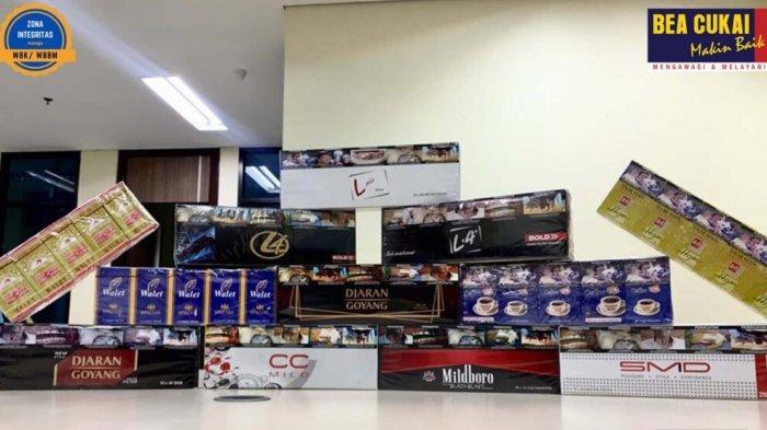 Bea Cukai Gagalkan Peredaran Rokok Ilegal di Jateng, Kini Lewat Online Shop