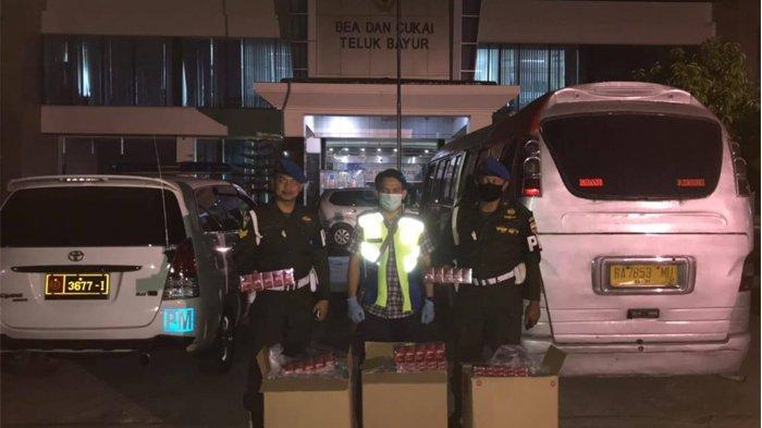 Operasi Gempur 2020, Bea Cukai Kembali Sita Jutaan Batang Rokok Ilegal