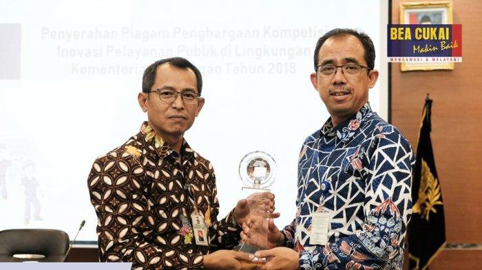 Bea Cukai Kualanamu Raih Penghargaan atas Kompetisi Inovasi Kementerian Keuangan