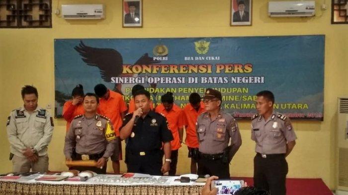 Petugas Bea Cukai Temukan Narkotika Dalam Kasur Busa Di Pelabuhan Tunontaka