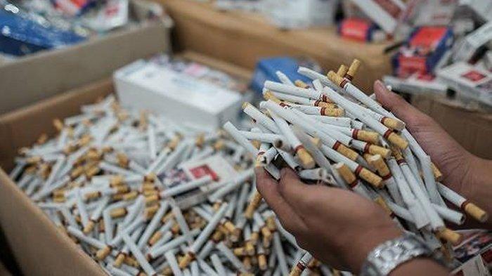 Lewat Operasi Gempur Bea Cukai Amankan Ratusan Ribu Batang Rokok Ilegal di Empat Provinsi