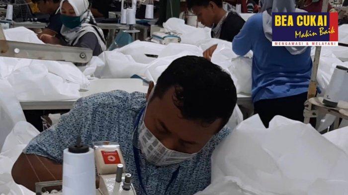 37 Perusahaan Kawasan Berikat Dapat Izin Bea Cukai Produksi Masker dan Alat Pelindung Diri