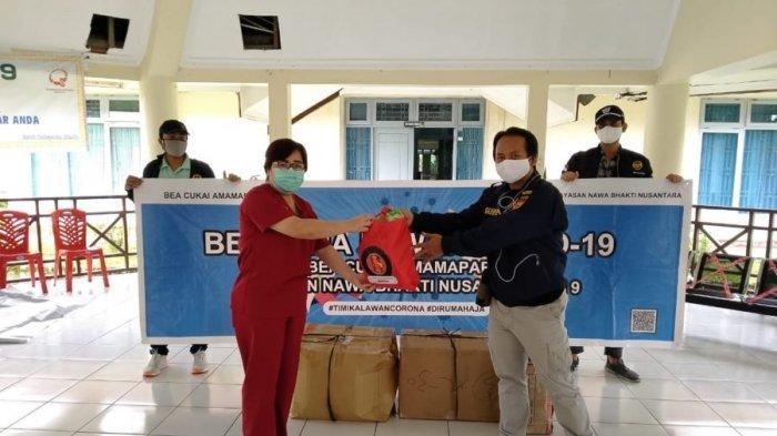 Bea Cukai Salurkan Donasi Untuk Penanggulangan Covid-19 di Maluku dan Papua