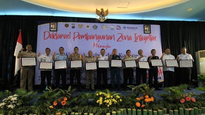 Bea Cukai Tanjung Perak Deklarasikan Zona Integritas Wilayah Bebas Korupsi