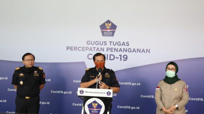 Bea Cukai Hibahkan Puluhan Ribu Masker ke BNPB