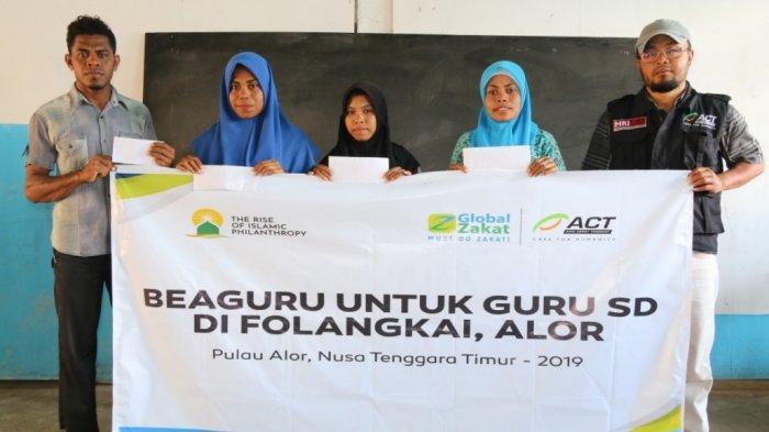 ACT Berikan Apresiasi untuk Ratusan Guru di Tepian Negeri