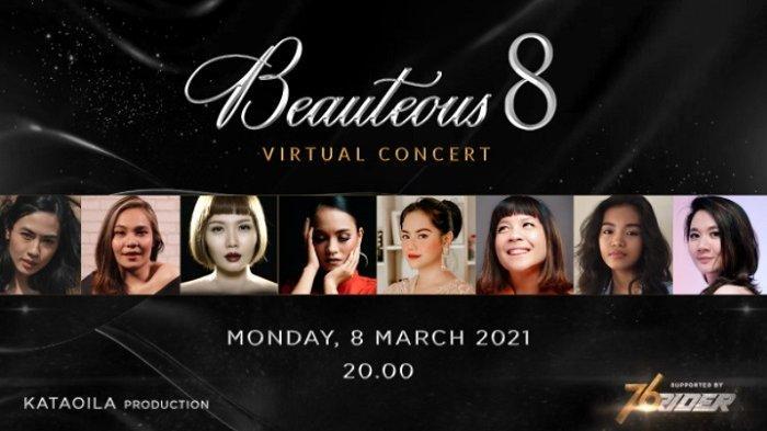Peringati International Women's Day, 8 Penyanyi Wanita Gelar Konser Virtual