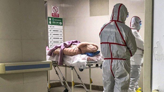Beberapa pasien yang terinfeksi dirawat di RS Jinyintan, Wuhan