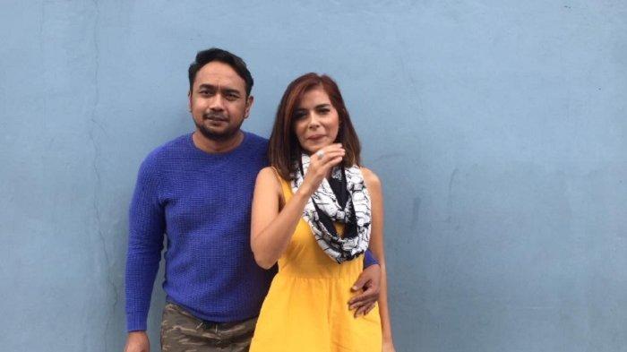 Bebi Romeo dan Meisya Siregar saat ditemui di kawasan Kapten Tendean, Jakarta Selatan, Rabu (8/8/2018).