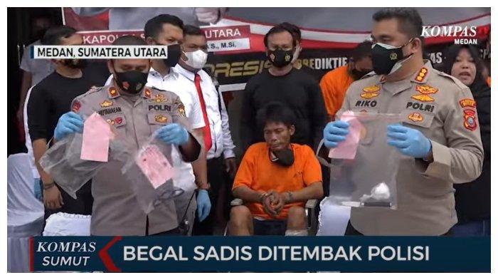 Begal Sadis di Lampu Merah Medan Tertangkap, 6 Penadah Ikut Diamankan