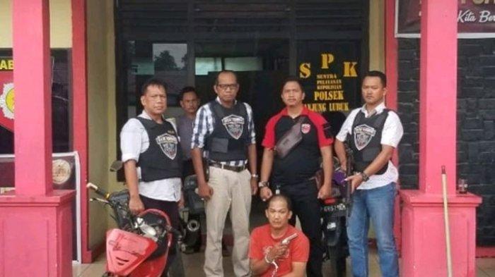 Kisah Begal Sadis di OKI Melawan Polisi dengan Senjata Api Mainan