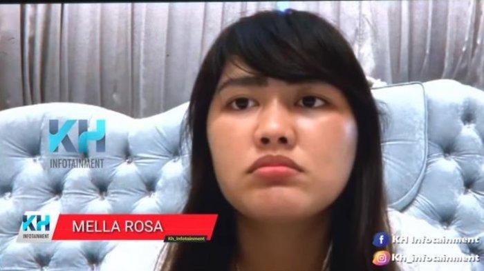 Adik Via Vallen, Mella Rosa menjelaskan reaksi sang kakak saat ditunjukkan wajah pelaku yang membakar mobilnya.