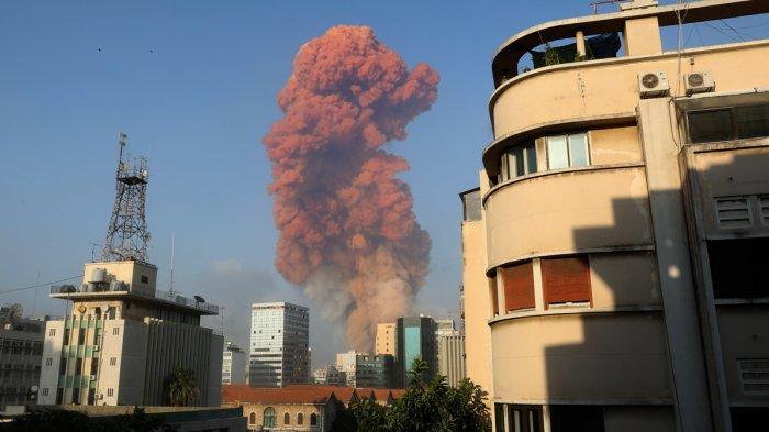Kronologi Ledakan di Beirut Lebanon dan Kesaksian Para Korban, Ada Orang Terlempar Sejauh 2 KM