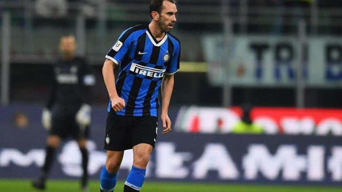 Bek Inter Milan, Diego Godin Putuskan Kembali ke Uruguay di Tengah Pandemik Covid-19