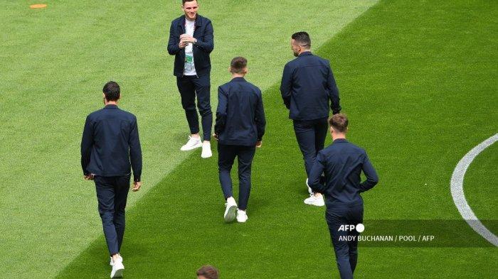 SEDANG BERLANGSUNG Live Streaming Skotlandia vs Ceko Euro 2020: Robertson & McTominay Starter