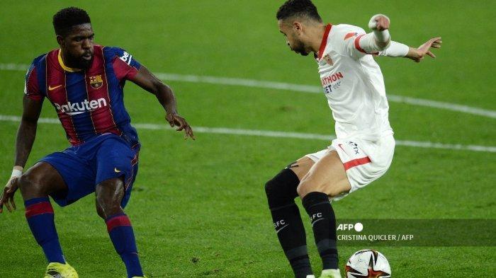 LIVE STREAMING Barcelona vs Alaves Liga Spanyol - Pembelaan Koeman untuk Umtiti: Dia Tidak Salah