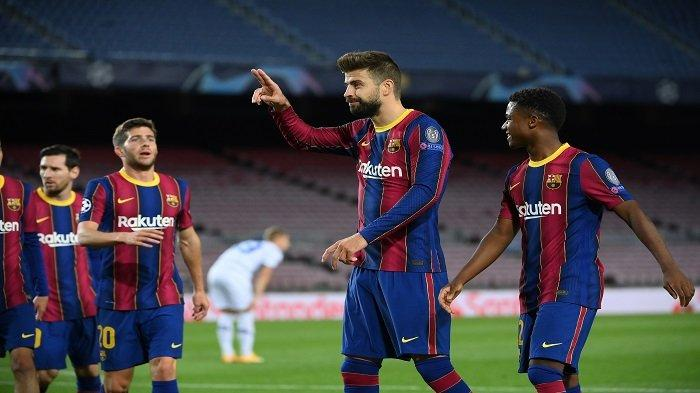 Barcelona vs Cadiz, Liga Spanyol, Ronald Koeman Bahas Gestur Gerard Pique