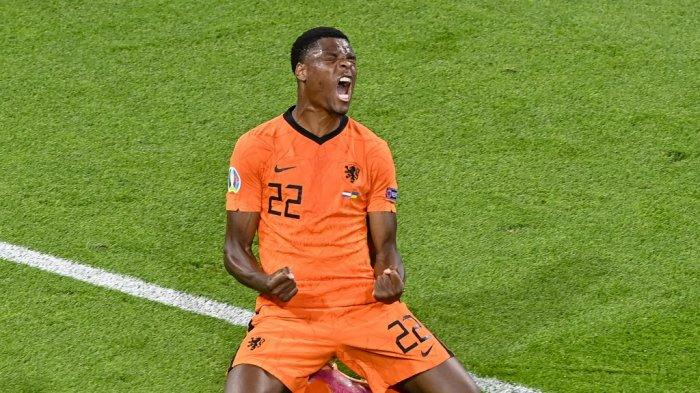 Profil Denzel Dumfries, Bek Sayap Belanda yang Rajin Cetak Gol di Euro 2020