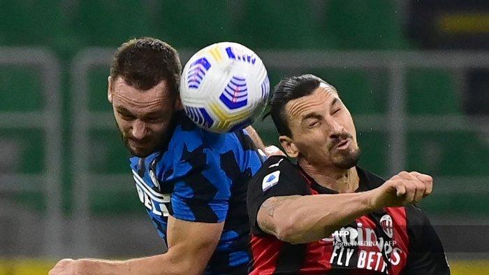 Siaran Langsung Liga Italia Malam Ini: AC Milan vs Atalanta, Udinese vs Inter Milan, Live RCTI