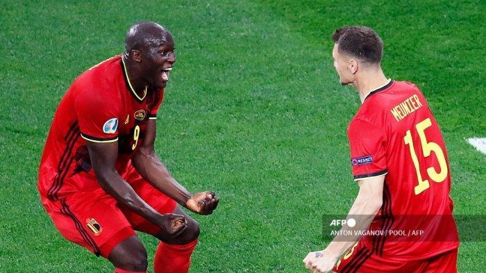 Selebrasi Kontroversial Romelu Lukaku Seusai Kepalanya Dipegang Donnarumma Saat Mau Tendang Penalti