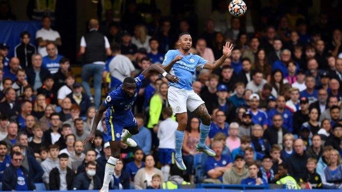 Hasil Chelsea vs Manchester City di Liga Inggris, Gabriel Jesus Bawa Tim Tamu Menang 0-1