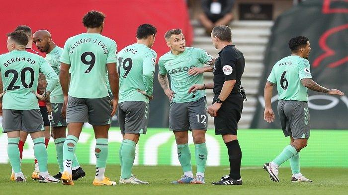 Hasil Liga Inggris, Everton Telan Kekalahan Perdana, Rekor 'Invincibles' Arsenal Belum Tergoyahkan