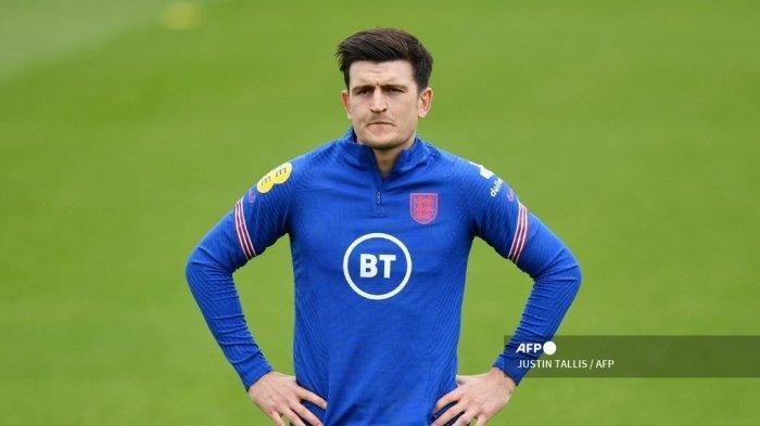Jelang Inggris vs Skotlandia Grup D Euro 2020: Southgate Pastikan Bek MU Siap Comeback Malam Ini