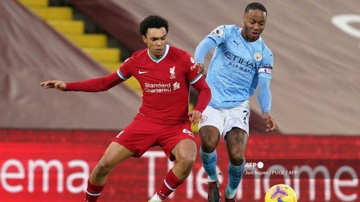 5 Fakta Unik Kekalahan Telak Liverpool 1-4 dari Man City, Angkernya Anfield Taman Bermain Sterling