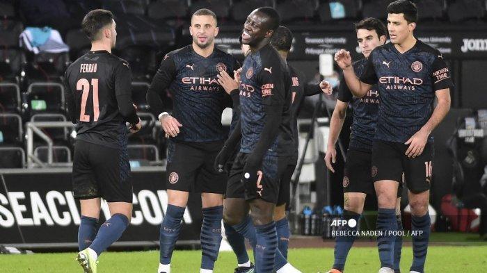 PREDIKSI Monchengladbach vs Manchester City - Jalan Mulus Aguero Cs ke Perempat Final Liga Champions