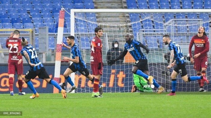 LIVE STREAMING Inter Milan vs Roma Liga Italia, H2H Kedua Tim: 5 Laga Terakhir Tidak Ada Pemenang