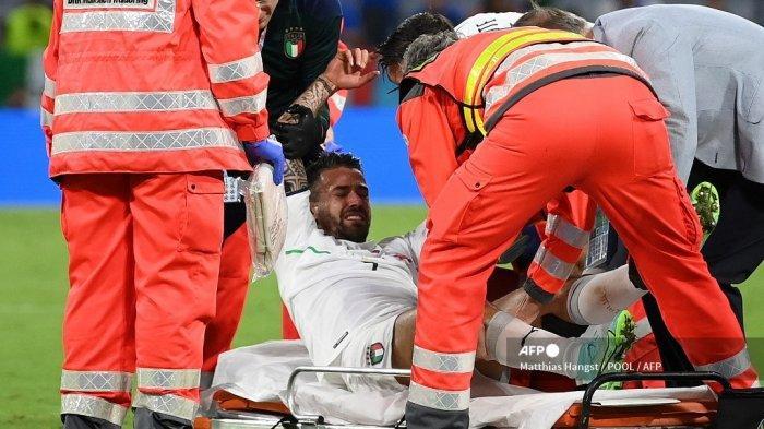 Spinazzola Jadi Tumbal Italia ke Semifinal Euro 2021, Cedera Achilles & Diperkirakan Absen Lama