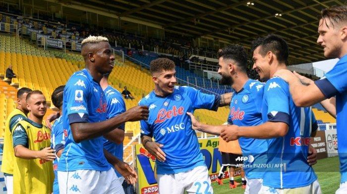 LINK Nonton di HP, Live Streaming TVRI Atalanta vs Napoli Coppa Italia, Akses di Sini