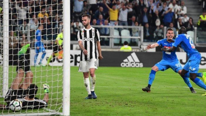 Hasil Liga Italia Tadi Malam Tundukkan Juventus Napoli Buka Peluang Juara Serie A Tribunnews Com Mobile