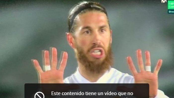 Pemintaan bek Real Madrid, Sergio Ramos, untuk main 10 menit lagi tak dihiraukan Zinedine Zidane saat melawan Atalanta di Liga Champions