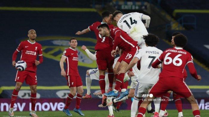HASIL Leeds vs Liverpool: Mantan Bek Real Madrid Buyarkan Kemenangan The Reds, Gagal Tembus 4 Besar