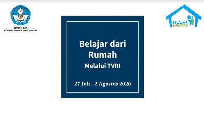 Jadwal TVRI Belajar dari Rumah SMA Kamis, 30 Juli 2020: Persamaan Eksponen Bentuk 4, 5, dan 6