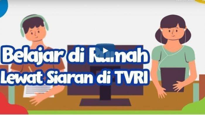 Ilustrasi - Program Belajar dari Rumah TVRI.