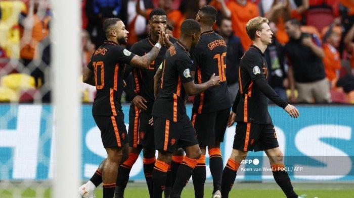 Makedonia Utara vs Belanda: Belanda Unggul Sementara Lewat Kaki Memphis Depay