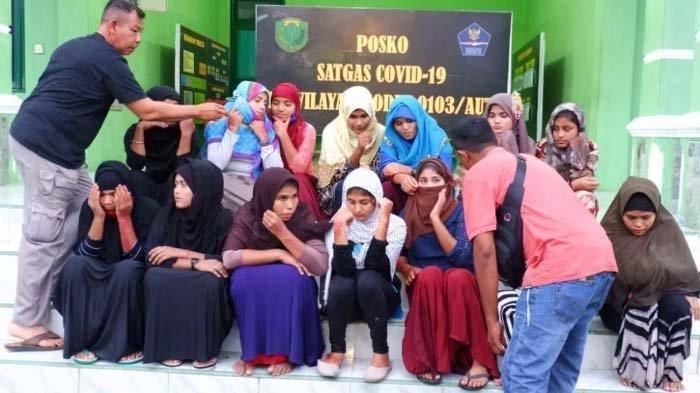 Za Diminta Membawa 2 Imigran Rohingya di Lhokseumawe ke Medan, Dijanjikan Upah Rp 2 Juta Per Orang