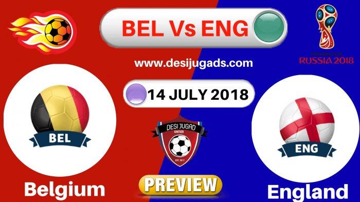 Preview Belgia vs Inggris - Siapakah yang Akan Tempati Posisi Ketiga Piala Dunia 2018?
