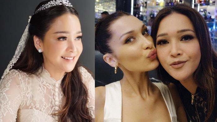 Maia Estianty Pamer Kedekatan dengan Bella Hadid, Istri Irwan Mussry Tak Kalah Cantik