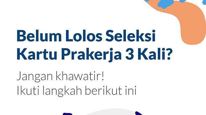 Link Download Surat Pernyataan Gagal Seleksi Prakerja 3 Kali, Kirim ke kepesertaan@prakerja.go.id