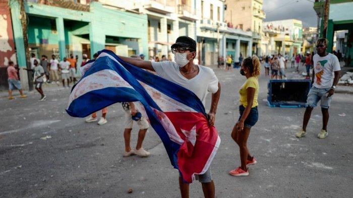 6 FAKTA Aksi Protes di Kuba, Warga Melawan Rezim Komunis untuk Pertama Kalinya dalam 60 Tahun