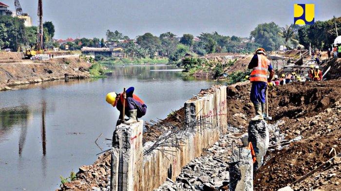 Rehabilitasi Bendung Tirtonadi untuk Pengendalian Banjir, Musim Kemarau Tampung Air 1 juta m3