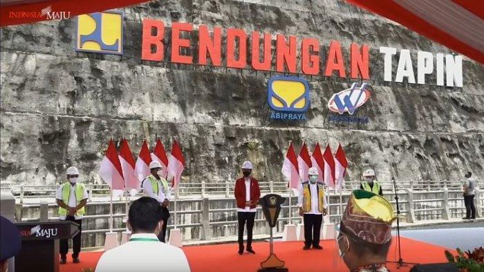 Presiden Jokowi : Adanya Bendungan, Banjir di Tapin Kalsel Dapat Berkurang Drastis
