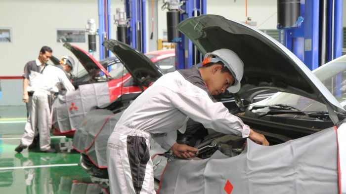 Ini Prosedur Rawat Mobil di Bengkel Mitsubishi Selama PPKM