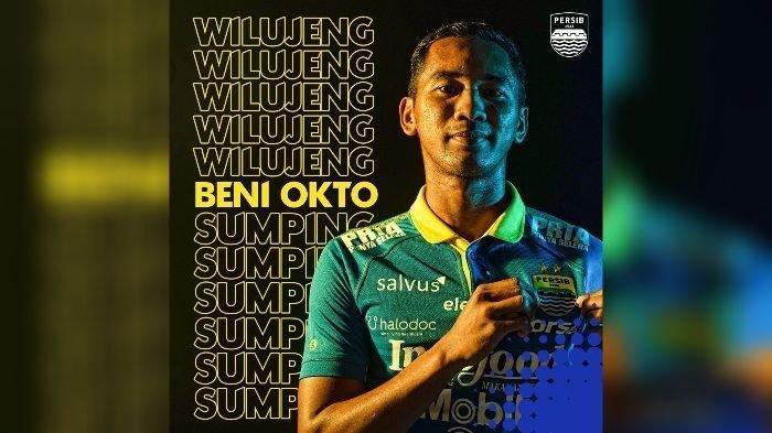 Beni Okto resmi menjadi pemain Persib Bandung.